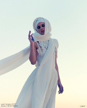 Nomad for Saint Magazine. Styling and headpiece by I Can See Your Privacy, photo by Klara G, makeup by Tami Shirey, modeling by Amanda Viola xx