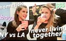 Drink with us: Why we won't live together again, College stories & Reevaluating your goals ft Sierra