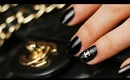 Chanel Quilted 3D Nail Art