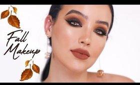 Pumpkin Spice Fall Makeup + Haul | Amanda Ensing