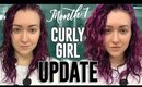 Curly Girl Method Update- BIG Changes and BIG Frustrations  [CGM Curly Hair Routine]