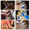 My different Nail styles