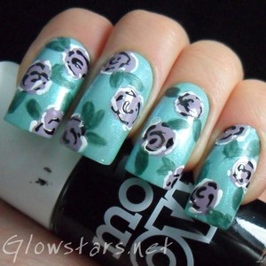 To find out more about this mani visit http://glowstars.net/lacquer-obsession/2012/10/roses