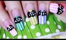 Cute & Easy CUPCAKE Nail Art Tutorial