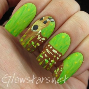Read the blog post at http://glowstars.net/lacquer-obsession/2015/03/the-digit-al-dozen-does-nature-deer/