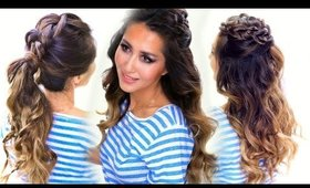 2 ★ BIG Statement BRAID Hairstyles | Everyday Braids