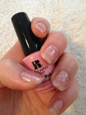 Gorgeous sparkles  RCM gel polish in #178 Tinsel Town