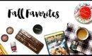 Fall Favorites Tag | makeupTIA