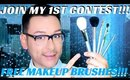 GIVEAWAY AND CONTEST AUG 1ST-AUG 21ST BEAUTY PRODUCTS MAKEUP BRUSHES- mathias4makeup