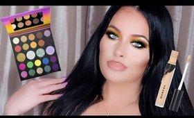 Morphe Glam Fam! How to Apply Glitter Eyeshadow + Morphe Concealer Review I Full Quarantine Makeup