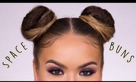 Space Buns EASY How-To Hair Tutorial | Maryam Maquillage