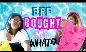 Best Friend Buys My Outfit CHALLENGE 2017 | Hiiyooitscat