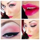 pink make up!