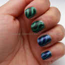 Green and Blue Magnetic Polishes
