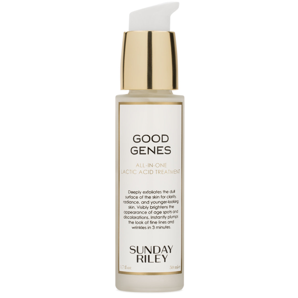Sunday Riley Good Genes All-In-One Lactic Acid Treatment 50 ml product swatch.