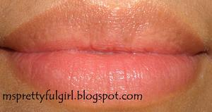 Avon Healthy Makeup Lip Cream SPF 15 Peachy Cream http://msprettyfulgirl.blogspot.com/2011/05/swatches-avon-healthy-makeup-lip-cream.html