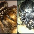 Simple hair-do