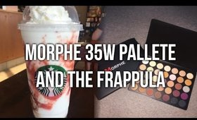 MORPHE 35W PALETTE & THE FRAPPULA!