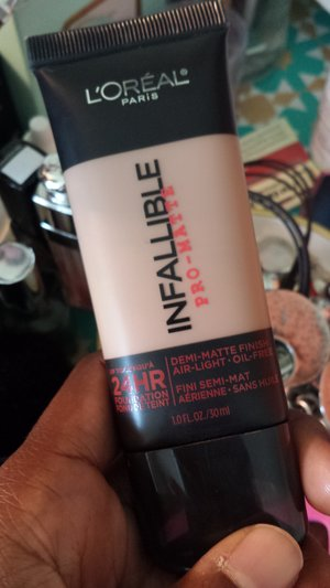 Loreal Infallible Pro-Matte Review  | Beautylish