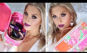 Pack With Me! ♡ Whats In My Makeup Bag? Packing My Suitcase! Australia Trip ♡