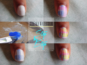 A SIMPLE yet creative mani to do. This is how to create it. More picture on my website www.monsieurlili.com  ! Take a look !  ( in the Womanity section )