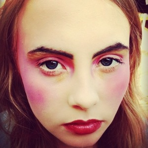 I was inspired by Pat McGrath