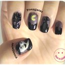 Tombstone Nail Art | Halloween (Graveyard and Ghosts)