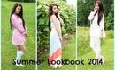 Summer Lookbook 2014 | Girly Outfit Ideas for Summer!