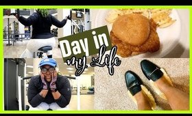 DAY IN MY LIFE : Back Workout, Chick-fil-A at Home, Shoe Shopping at Target