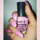 Light pink & glitter