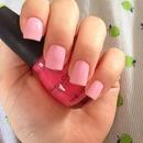 Pink nails ^.^