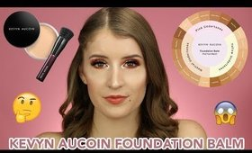NEW! KEVYN AUCOIN FOUNDATION BALM! HIT OR MISS?!