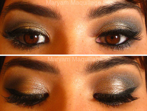 Smokey Cat Eye  http://www.maryammaquillage.com/2012/01/its-party-tyme.html