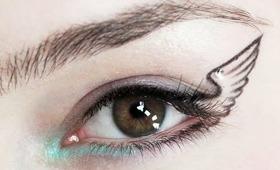 Simple Statement: Winged Eyeliner