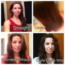 The many moods of my hair!