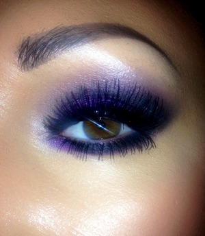 Purple shadow from Chi Chi - Rich Gems palette.