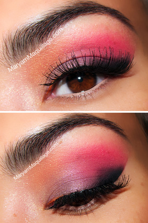 Airbrush eye makeup: http://www.maryammaquillage.com/2012/09/dress-up-your-labor-day-whites.html