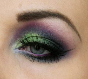 Purple, pink, green and blue! We<3Color