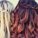 Blonde&Brown Hair