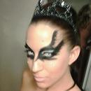 Grr blurry black swan bday theme