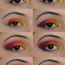 Sugarpill Rainbow Tutorial part 1
