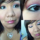 Silver and Pink: A makeup tutorial