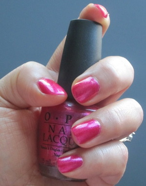 Be a Dahlia Won't You by OPI.  Purchased @ Beauty Company SF during the Beautisol / Beautylish event 7.26.11.