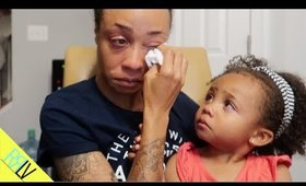 Sometimes you have to cry it out... and that's what we did   RRL VLOGS