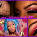 "Nicki Minaj ""The Boys"" Makeup Tutorial"