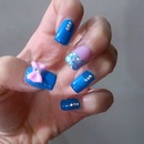my nails cuteee