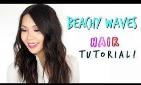 How I curl my Hair! | Beachy Waves Hair Tutorial