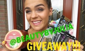 Instagram GIVEAWAY!!!! @beautybyjulia