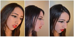 For more photos of this look check out: http://mishmreow.blogspot.co.uk/2012/05/lotd-basic-red-lips-illamasqua-grandeur.html