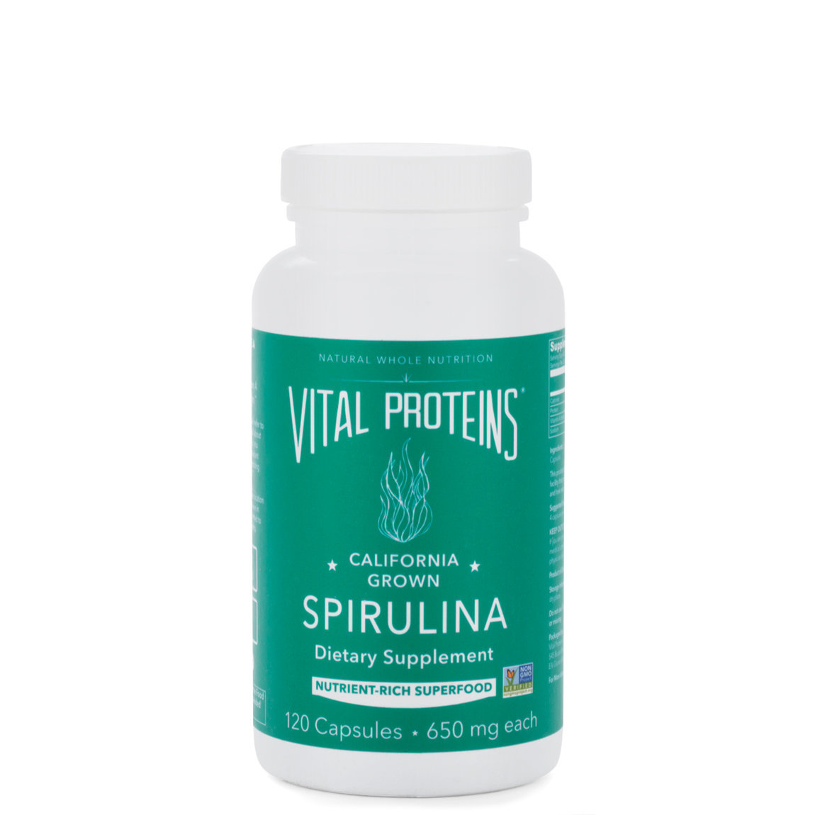 Vital Proteins Spirulina Capsules product swatch.